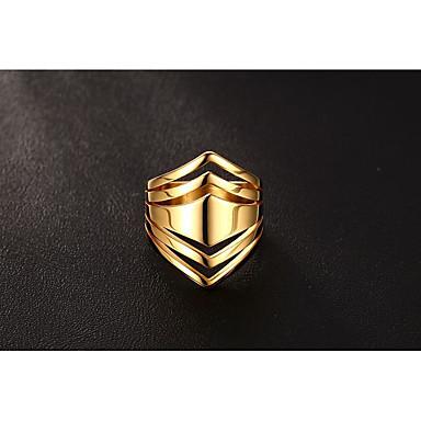 Női Band Ring - Circle Shape Vintage / elegáns / Divat Arany Gyűrű Kompatibilitás Esküvő / Eljegyzés / Napi