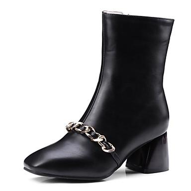 Damen Schuhe Leder Winter Modische Stiefel Springerstiefel Tauchschuhe Komfort Gladiator Schneestiefel Reitstiefel Stiefel Walking