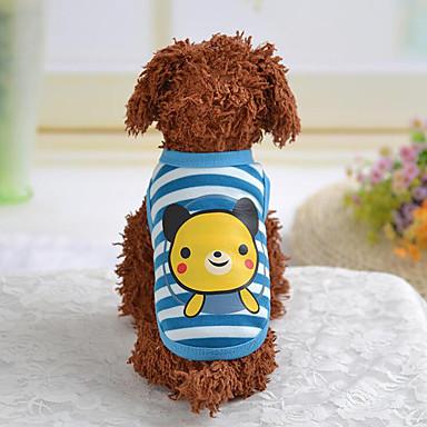Hund Weste Hundekleidung Tier Braun Rot Blau Rosa Baumwolle Daune Kostüm Für Haustiere Herrn Damen Lässig / Alltäglich