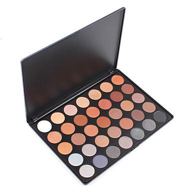 Lidschattenpalette Trocken Mineral Lidschatten-Palette Puder Alltag Make-up Party Make-up