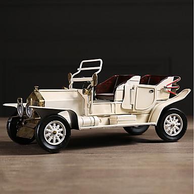 Diy autóipari díszek amerikai retro kreativitás nosztalgikus autó otthoni bútorok autó medál&Fém díszek