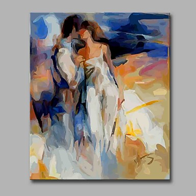 Print Stretched Canvas - People Artistic / Modern / Contemporary