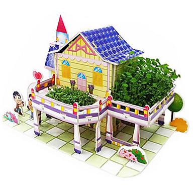 3D - Puzzle Holzpuzzle Bausets Berühmte Gebäude Haus Holz Naturholz Unisex Geschenk