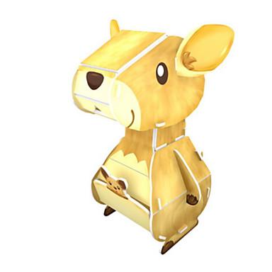 3D építőjátékok Fejtörő Papírmodell Fejlesztő játék Állatok Kartonpapír Gyermek Uniszex Ajándék