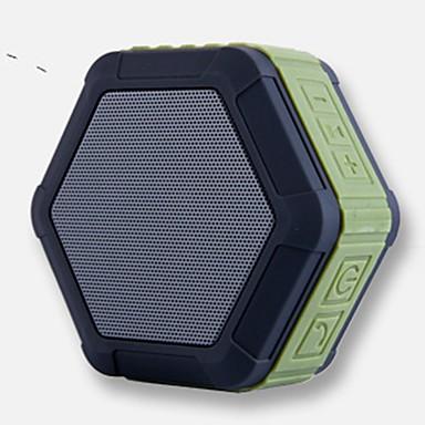 MY01 Bluetooth 4.0 Hordozható hangszóró Lóhere Fekete Narancssárga