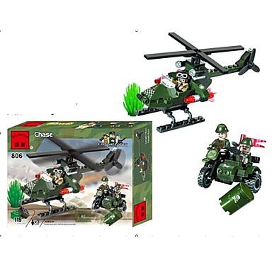ENLIGHTEN Építőkockák / Építőkocka minifigurák Katonai / Repülőgép Fun & Whimsical Ajándék