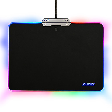 Ajazz Hard Mouse Pad Colorful 9 RGB Lighting Modes Touch Control for Games Office #06104557