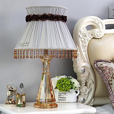 40 Tiffany Tischleuchte , Eigenschaft für Kristall , mit Benutzen An-/Aus-Schalter Schalter