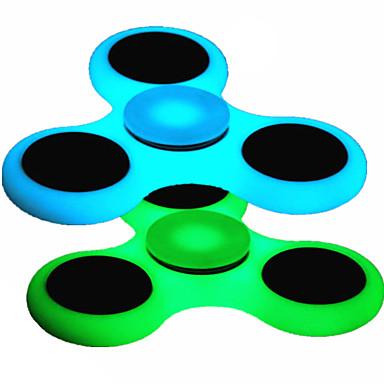 Stresszoldó pörgettyűk / Kézi Spinner / Búgócsiga Stressz és szorongás oldására / Focus Toy / Office Desk Toys Fémes / Műanyag / Foszforeszkáló Darabok Gyermek / Felnőttek Ajándék