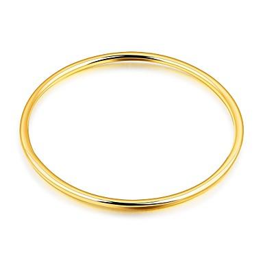 Női Kocka cirkónia Karperecek - Cirkonium, Arannyal bevont, Rózsa arany bevonattal Luxus, Alap, Divat Karkötők Arany Kompatibilitás Karácsony Esküvő Parti