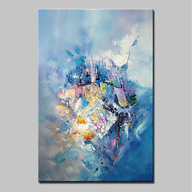 Mintura® Big Size Hand Painted Modern Abatract Oil Painting On Canvas Wall Art Picture For Wall Decor No Frame