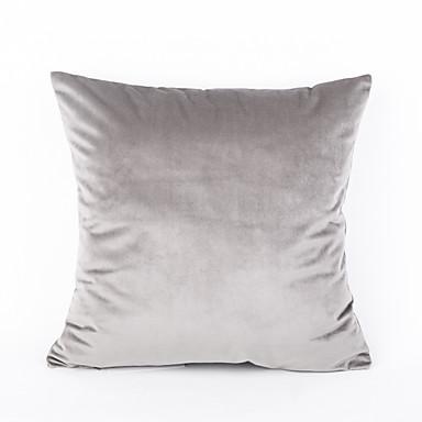 1 pcs Velvet Pillow Case Traditional/Classic