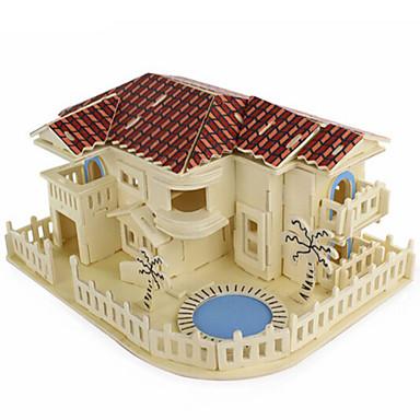 voordelige 3D-puzzels-3D-puzzels Legpuzzel Houten modellen DHZ Simulatie Puinen Natuurlijk Hout Unisex Speeltjes Geschenk