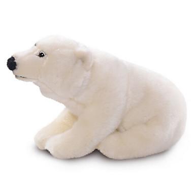 Medve Punjene i plišane igračke Modeli i makete Kézzel készített élethű Állatok tettetés Lakberendezési cikkek 100% pamut Ajándék