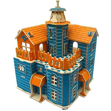 3D - Puzzle Holzpuzzle Holzmodelle Architektur 3D Simulation Heimwerken Holz Naturholz Geburtstag Unisex Geschenk