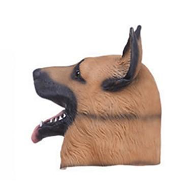 voordelige Maskers voor de feestdagen-Halloweenmaskers Dierenmasker Latex Kumi Liima Honden Horrorthema Volwassenen Unisex