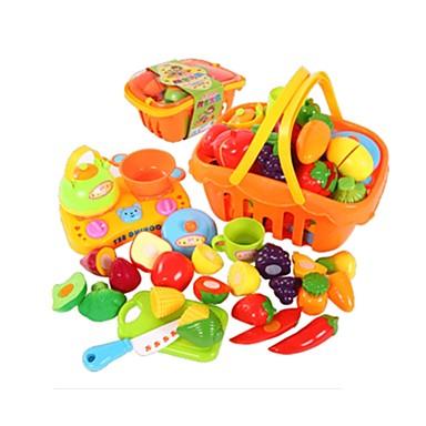 Játék konyha készletek Étel Szerepjátékok Halak Gyümölcs & zöldség szeletelők Gyümölcs & zöldség Gyümölcs tettetés Műanyagok Fiú Gyermek