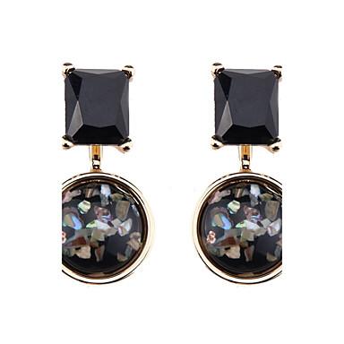 Women's Drop Earrings - Crystal Geometric, Vintage, Bohemian Black For Graduation / Gift / Daily
