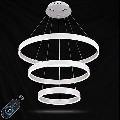 Függőlámpák Háttérfény Festett felületek Fém Akril Kristály, Állítható, Tompítható 110-120 V / 220-240 V Távirányítóval szabályozható LED fényforrás / Beépített LED