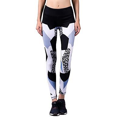 Jóga Pants Kerékpározás Tights / Alsók Rugalmas Természetes Nyúlós Sportruházat Női BARBOK Jóga / Pilates / Tánc