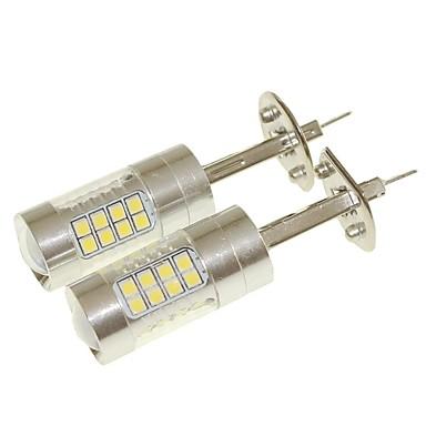 SENCART 2pcs H1 Autó Izzók 36W SMD 3030 1500-1800lm LED izzók Ködlámpa