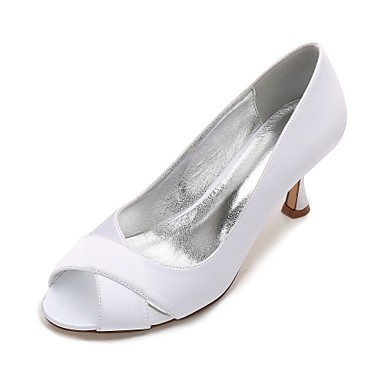 6381e8ee65e Women s Shoes Satin Spring   Summer Basic Pump   Comfort Wedding Shoes  Kitten Heel   Low. cheap Wedding Shoes-Women  039 s ...