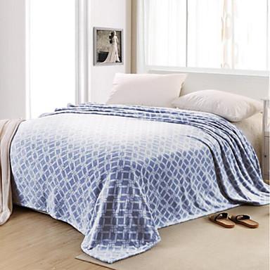 Superweich Gitter Polyester Decken