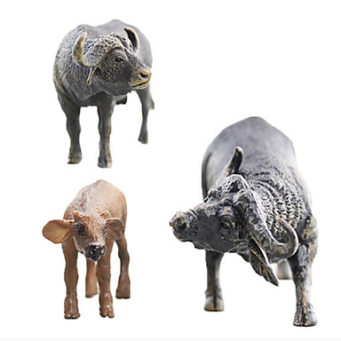 Animals Action Figure Pig Deer Animals Simulation Silicon Rubber Girls' Kid's Teen Gift