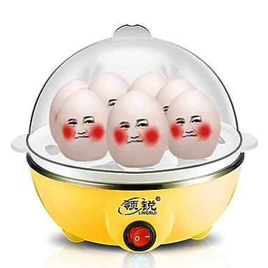 Eierkocher Single Eggboilers Multifunktion Kreativ Ministil Geräuscharm Licht-Spannungsanzeige Leichtes Gewicht Abnehmbar 220V