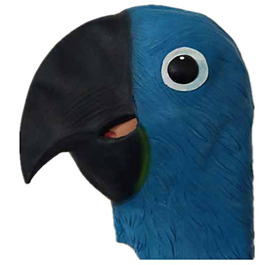 cheap Masks-Halloween Mask Animal Mask Party Bird Parrot Horror Latex Rubber Glue Pieces Adults' Unisex Toy Gift