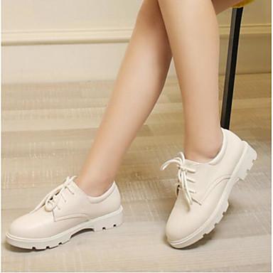 Damen Schuhe PU Sommer Komfort Outdoor für Normal Weiß Blau Rosa