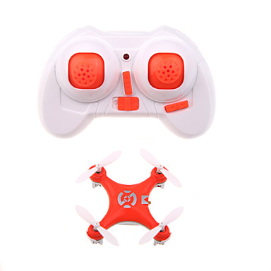 RC Drone Cheerson CX10 4CH 6 Eixos 2.4G Sem câmera Quadcópero com CR Luzes LED Retorno Com 1 Botão Vôo Invertido 360° Quadcóptero RC
