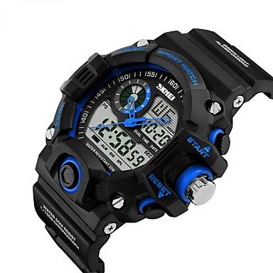 Intelligens Watch YYSKMEI1029 mert Hosszú készenléti idő / Vízálló / Több funkciós / Sportok Dugók & Töltők / Ébresztőóra / Kronográf / Naptár / Két időzóna