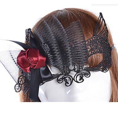 Halloween maszkok / Álarcosbál maszkok / Szexi csipkés maszk Parti Újdonság / Étel és ital Darabok Lány Felnőttek Ajándék