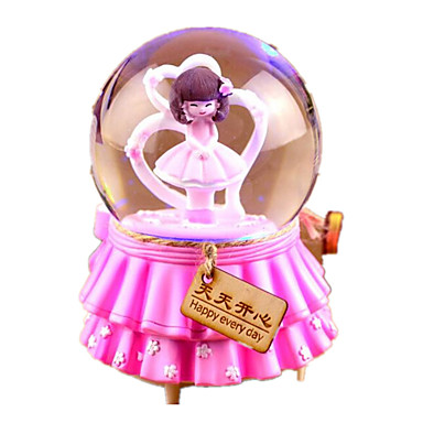 كرات الصندوق الموسيقي ألعاب دائري البلاستيك 1 قطع غير محدد عيد ميلاد هدية