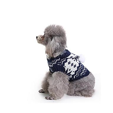 Hund Pullover Hundekleidung Lässig/Alltäglich Geometrisch Kostüm Für Haustiere