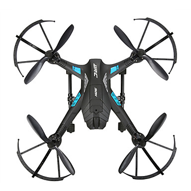 RC Drone JJRC H12WH 6 Akse 2.4G Med HD-kamera 0.3MP Fjernstyrt quadkopter LED Lys Flyvning Med 360 Graders Flipp Fjernstyrt Quadkopter