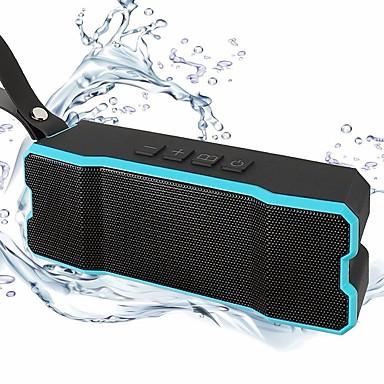 BT-801 Outdoor Mini Style Bluetooth Bluetooth 4.0 3.5mm AUX Subwoofer Orange Light Blue