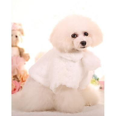 d375cf709d82 Σκύλος Παλτά Ρούχα για σκύλους Πριγκίπισσα Λευκό Ροζ Βαμβάκι Στολές Για  Άνοιξη   Χειμώνας Χειμώνας Sweet Style Καθημερινά