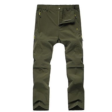Men's Hiking Pants Outdoor Lightweight, Fast Dry, Breathability Pants / Trousers / Convertible Pants Hunting / Fishing / Hiking