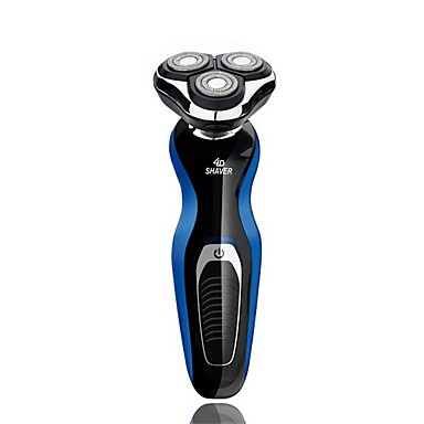 Electric Shaver Body Wash Hair Removal Rotary 3-Head Float Trimmer Lithium Battery Smart 360 Degree Close to Face Multifunction
