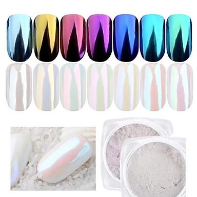 1pc Powder / Glitter Powder Elegant & Luxurious / Mirror Effect / Sparkle & Shine Nail Art Design