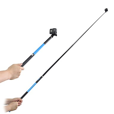 Telescopic Pole Foldable Extender Extended Water Resistant Ultra Slim and Light with Cup Stand Adjustable Fit Stick Sticky Extra Long For