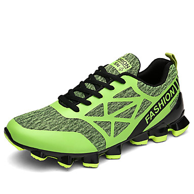 Men's Tulle Summer / Fall Comfort Athletic Shoes Running Shoes Black / Red / Green