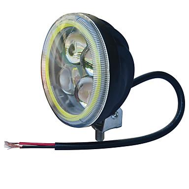 Jiawen 3.5inch 5,5 W rund svart ledde motorcykel strålkastare för jeep strålkastare (dc 9-48v)