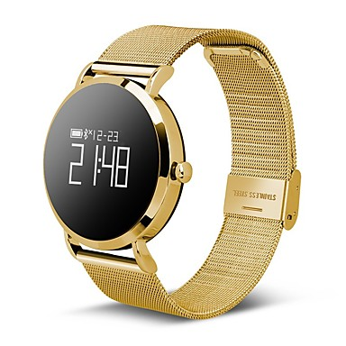 Smart Bracelet Smartwatch CV08 for Heart Rate Monitor / Blood Pressure Measurement / Calories Burned / Long Standby / Touch Screen Pulse Tracker / Pedometer / Call Reminder / Activity Tracker / Sleep