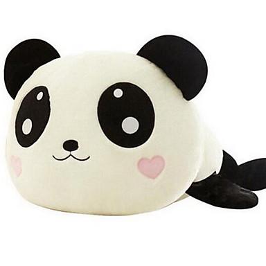 voordelige Knuffels & Pluche dieren-Panda Kussens Knuffels & Pluche dieren Plezier Klassiek CoralFleece Linnen / Katoen Unisex Meisjes Speeltjes Geschenk