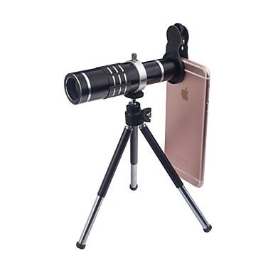 18X makró 0,45x széles látószög Kamera lencse Objektív Smartphone Xiaomi Huawei Samsung iPhone