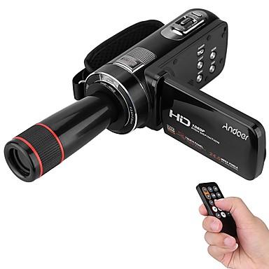 Műanyag Videokamera High Definition Szabadtéri Otthoni Hordozható Érintőképernyő