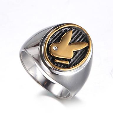 Men's - Titanium Steel Luxury, Vintage, Punk 7 / 8 / 9 / 10 / 11 Gold / Silver For Birthday Gift Daily